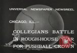 Image of push ball match Chicago Illinois USA, 1932, second 2 stock footage video 65675033275