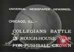 Image of push ball match Chicago Illinois USA, 1932, second 5 stock footage video 65675033275
