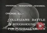 Image of push ball match Chicago Illinois USA, 1932, second 8 stock footage video 65675033275