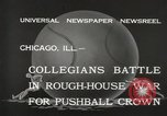 Image of push ball match Chicago Illinois USA, 1932, second 11 stock footage video 65675033275