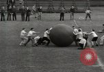 Image of push ball match Chicago Illinois USA, 1932, second 18 stock footage video 65675033275