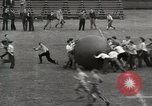 Image of push ball match Chicago Illinois USA, 1932, second 19 stock footage video 65675033275