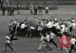 Image of push ball match Chicago Illinois USA, 1932, second 21 stock footage video 65675033275