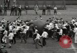 Image of push ball match Chicago Illinois USA, 1932, second 23 stock footage video 65675033275