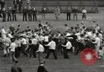Image of push ball match Chicago Illinois USA, 1932, second 24 stock footage video 65675033275