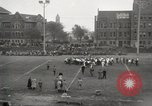 Image of push ball match Chicago Illinois USA, 1932, second 27 stock footage video 65675033275