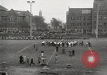 Image of push ball match Chicago Illinois USA, 1932, second 28 stock footage video 65675033275