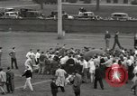 Image of push ball match Chicago Illinois USA, 1932, second 33 stock footage video 65675033275