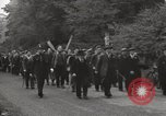 Image of British unemployed people march in protest United Kingdom, 1932, second 13 stock footage video 65675033280