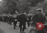 Image of British unemployed people march in protest United Kingdom, 1932, second 16 stock footage video 65675033280