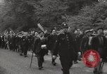 Image of British unemployed people march in protest United Kingdom, 1932, second 17 stock footage video 65675033280
