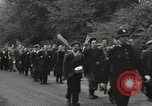 Image of British unemployed people march in protest United Kingdom, 1932, second 18 stock footage video 65675033280