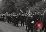 Image of British unemployed people march in protest United Kingdom, 1932, second 19 stock footage video 65675033280