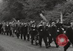 Image of British unemployed people march in protest United Kingdom, 1932, second 21 stock footage video 65675033280