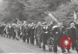 Image of British unemployed people march in protest United Kingdom, 1932, second 22 stock footage video 65675033280