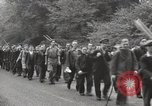 Image of British unemployed people march in protest United Kingdom, 1932, second 26 stock footage video 65675033280