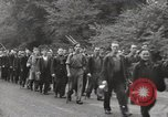 Image of British unemployed people march in protest United Kingdom, 1932, second 28 stock footage video 65675033280