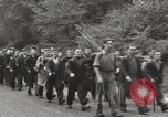 Image of British unemployed people march in protest United Kingdom, 1932, second 30 stock footage video 65675033280