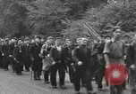Image of British unemployed people march in protest United Kingdom, 1932, second 31 stock footage video 65675033280