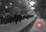 Image of British unemployed people march in protest United Kingdom, 1932, second 34 stock footage video 65675033280