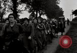 Image of British unemployed people march in protest United Kingdom, 1932, second 44 stock footage video 65675033280