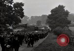 Image of British unemployed people march in protest United Kingdom, 1932, second 49 stock footage video 65675033280