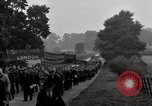Image of British unemployed people march in protest United Kingdom, 1932, second 52 stock footage video 65675033280