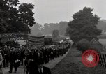 Image of British unemployed people march in protest United Kingdom, 1932, second 53 stock footage video 65675033280