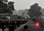Image of British unemployed people march in protest United Kingdom, 1932, second 54 stock footage video 65675033280