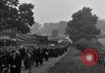 Image of British unemployed people march in protest United Kingdom, 1932, second 56 stock footage video 65675033280