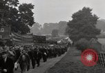 Image of British unemployed people march in protest United Kingdom, 1932, second 57 stock footage video 65675033280