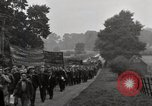 Image of British unemployed people march in protest United Kingdom, 1932, second 58 stock footage video 65675033280