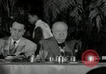 Image of Winston Churchill United States USA, 1954, second 14 stock footage video 65675033295