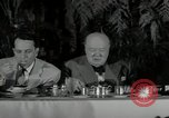 Image of Winston Churchill United States USA, 1954, second 16 stock footage video 65675033295