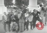 Image of Dwight D Eisenhower and Winston Churchill Washington DC USA, 1953, second 2 stock footage video 65675033296