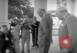 Image of Dwight D Eisenhower and Winston Churchill Washington DC USA, 1953, second 23 stock footage video 65675033296