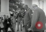 Image of Dwight D Eisenhower and Winston Churchill Washington DC USA, 1953, second 24 stock footage video 65675033296