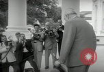 Image of Dwight D Eisenhower and Winston Churchill Washington DC USA, 1953, second 25 stock footage video 65675033296