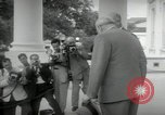 Image of Dwight D Eisenhower and Winston Churchill Washington DC USA, 1953, second 26 stock footage video 65675033296