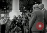 Image of Dwight D Eisenhower and Winston Churchill Washington DC USA, 1953, second 28 stock footage video 65675033296