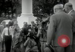 Image of Dwight D Eisenhower and Winston Churchill Washington DC USA, 1953, second 29 stock footage video 65675033296