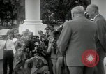 Image of Dwight D Eisenhower and Winston Churchill Washington DC USA, 1953, second 30 stock footage video 65675033296