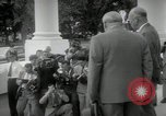 Image of Dwight D Eisenhower and Winston Churchill Washington DC USA, 1953, second 32 stock footage video 65675033296
