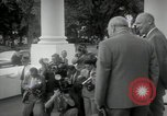 Image of Dwight D Eisenhower and Winston Churchill Washington DC USA, 1953, second 33 stock footage video 65675033296
