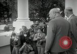 Image of Dwight D Eisenhower and Winston Churchill Washington DC USA, 1953, second 34 stock footage video 65675033296