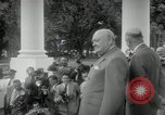 Image of Dwight D Eisenhower and Winston Churchill Washington DC USA, 1953, second 36 stock footage video 65675033296