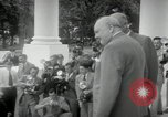 Image of Dwight D Eisenhower and Winston Churchill Washington DC USA, 1953, second 38 stock footage video 65675033296