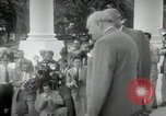 Image of Dwight D Eisenhower and Winston Churchill Washington DC USA, 1953, second 40 stock footage video 65675033296