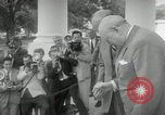 Image of Dwight D Eisenhower and Winston Churchill Washington DC USA, 1953, second 42 stock footage video 65675033296