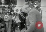 Image of Dwight D Eisenhower and Winston Churchill Washington DC USA, 1953, second 44 stock footage video 65675033296